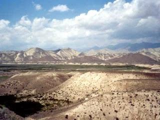 A nature view Kyrgyzstan