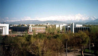 Bishkek city view