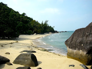 Beach in Tioman Island