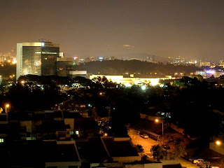 Subang night view