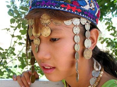 A Uzbek girl