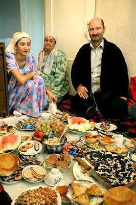 tajik feast