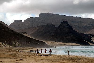 Sao vicente island beach