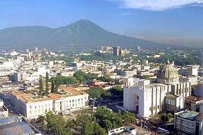 San Salvador down town