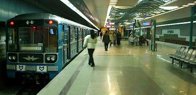 Metro station, Sofia