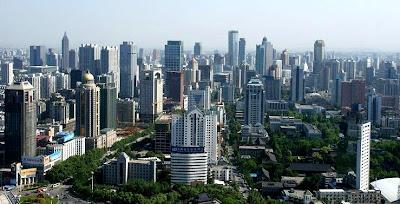 Nanjing city skyline