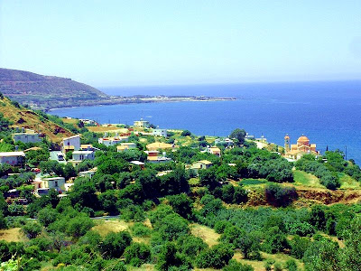 Pyrgos on Morphou bay