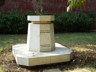 Gandhi's ashes