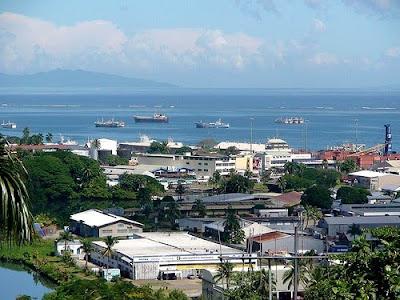 Suva, capital of Fiji