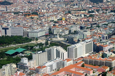 Pombal Square Lisbon