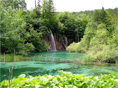 Plitvice lakes are World Heritage Site.