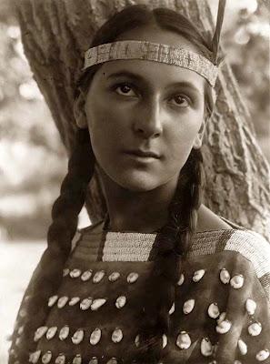 young apachi woman