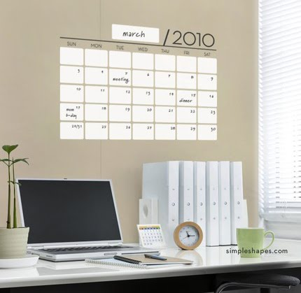 Design inspiration wall calendars dry erase vinyl wall stickers make up this calendar this is what my office looks like in my mind solutioingenieria Gallery