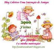 Parabéns Sandra pelas 3000 visitas