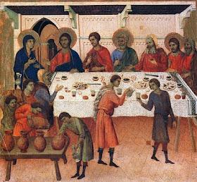 Bodas de Canã, Duccio di Buoninsegna