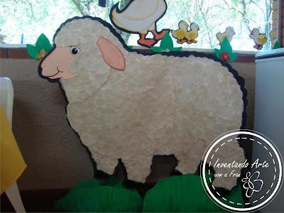 ovelha festa fazendinha EVA