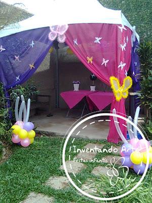 festa infantil borboletas