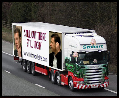 Official Find Madeleine FB page takes over the Eddie Stobart page Itchy