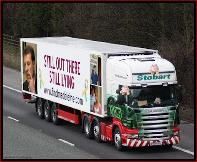 Official Find Madeleine FB page takes over the Eddie Stobart page Lying