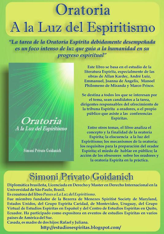 """Lanzamiento  del Libro """"Oratoria a la Luz del Espiritismo"""" en Lima-Perú"""
