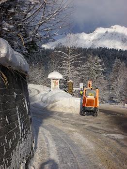 Snowy Austria