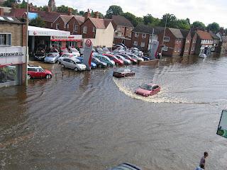 Floods in Britain 2007
