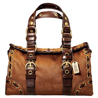 Coach Bag Chelsea Hair Calf Satchel