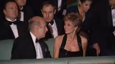Giscard d'Estaing and Princess Diana