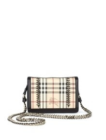Burberry Check and Chains Handbag