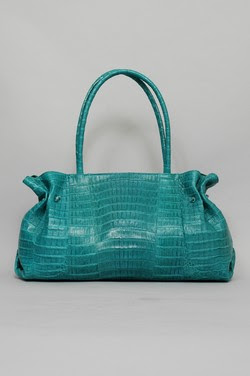 Carlos Falchi Bag Large Crocodile