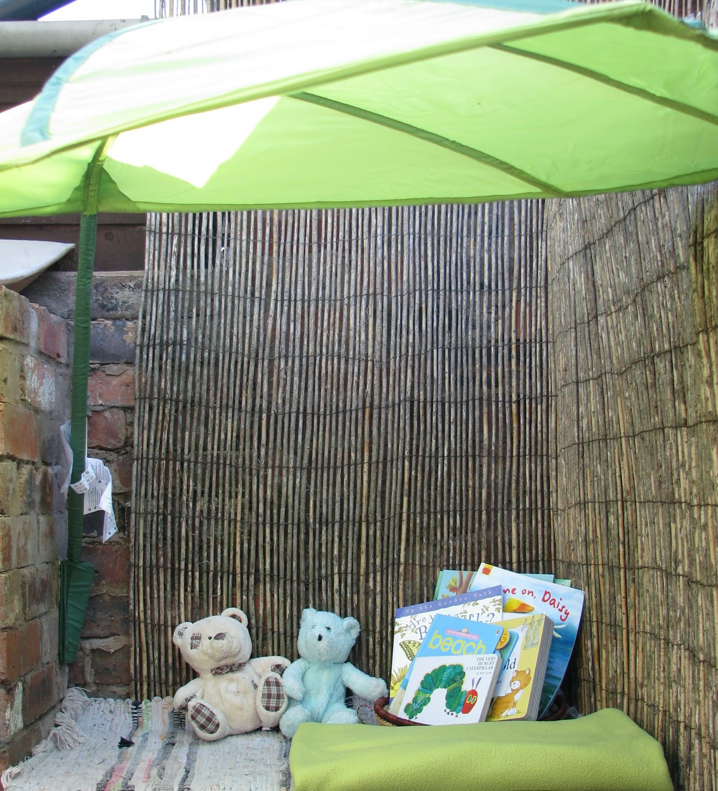 An Outdoor Reading Corner