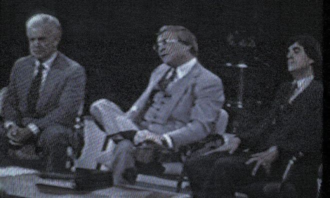 Bob debates Frank Kelley and Brooks Patterson on PBS in 1982