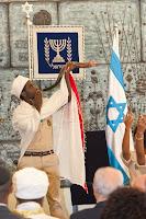 Ethiopian Israeli at Sig'd celebration