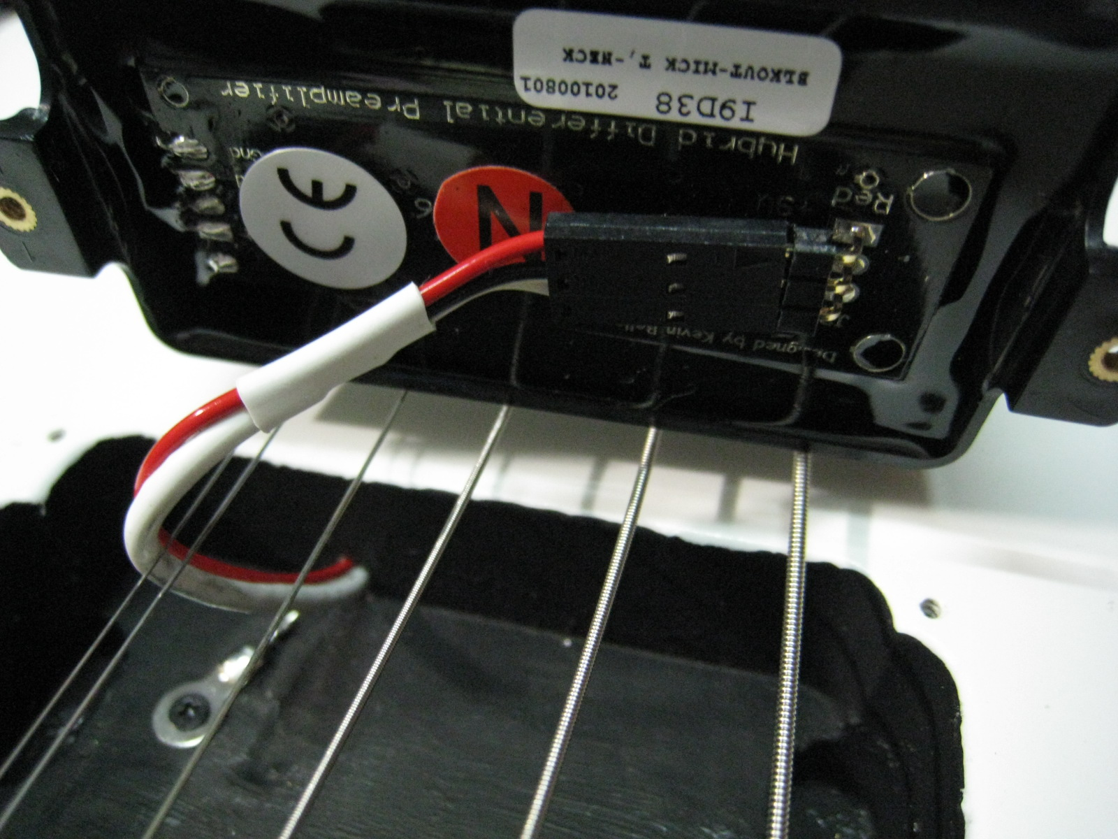 Even though both EMG active pickups and Seymour Duncan Blackout pickups are  interchangeable, you still need to be aware of the following things -