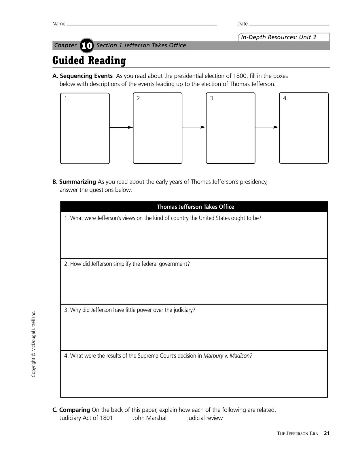 reading guide chapter 1 sections 1 Key to teaching resources print material transparency cd-rom or dvd  levels resources chapter opener section 1 section 2 section 3 section 4.