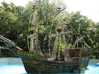 The Restored Monkey Ship
