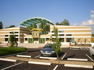 New Zoo Entrance on Mesker Park Drive