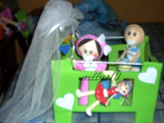 LAS MUÑECAS DE NELLYS...: Bebés en foami