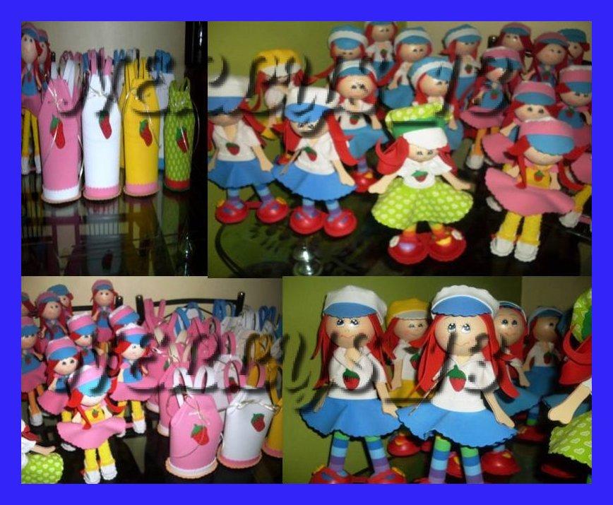 Las muñecas de Nellys...magia y encanto en foami.: ROSITA FRESITA