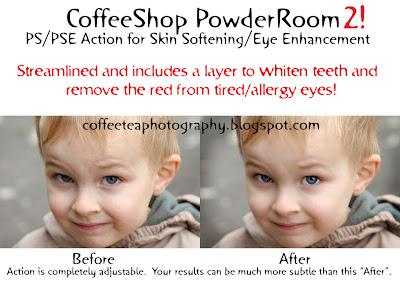 Coffeeshop Actions Powder Room