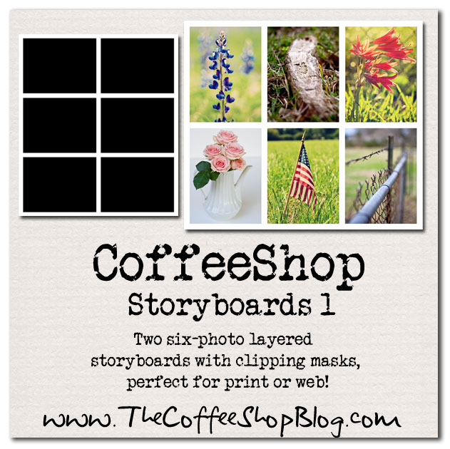 The Coffeeshop Blog: Free Storyboard Templates: Coffeeshop