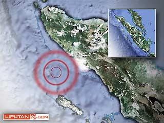 Gempa 7,2 SR Guncang Meulaboh Aceh