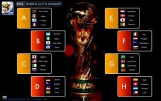 Group dan Jadwal Piala Dunia 2010