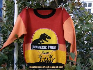 camisola jurassic park