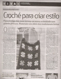 Magia do crochet no Viva + do Jornal de Notcias