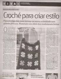 Magia do crochet no Viva + do Jornal de Notícias