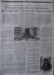 """Magia do crochet no Semanário """"Atlântico Expresso"""""""