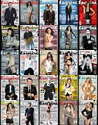 Aquí una muestra del trabajo editorial en las portadas de Esquire México