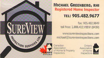 Michael Greenberg Registered Home Inspector Home Inspections Thornhill, Aurora, Toronto, Markham