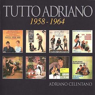 Música francesa e italiana, no sólo de rock vive el hombre... Tutto+Adriano+1958-1964+Front